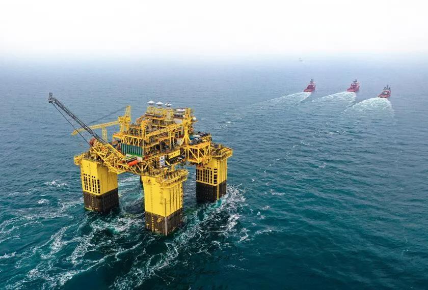 海上超深水气田